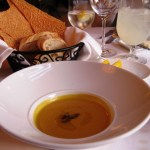 Pumpkin Butternut Squash Soup at The Terrace