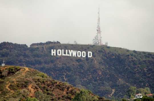An unobstructed -- and secluded -- view of the Hollywood Sign.