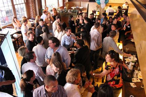 hbyp networking launch at rok sushi