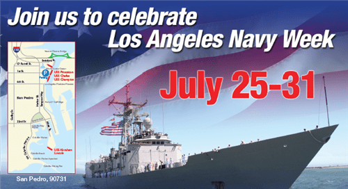This weekend Navy ships -- including the aircraft carrier USS Abraham Lincoln -- will be docking in the Port of Los Angels for the first time in 20 years.