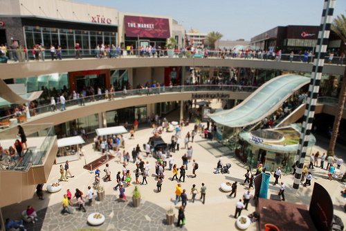 santa monica place courtyard by Kevin Labianco on Flickr