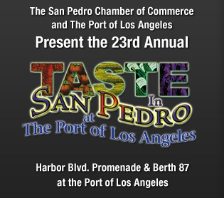 taste in san pedro logo