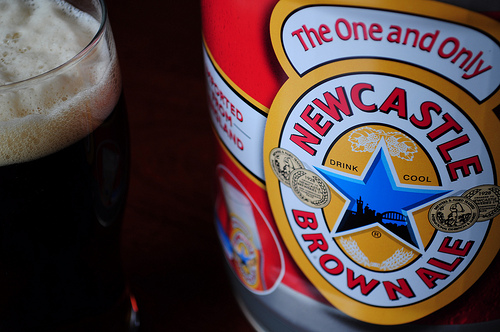 newcastle brown ale from NorthwestBeerGuide on flickr (nwbeerguide)