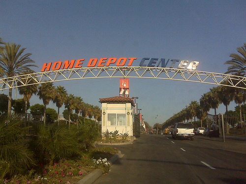 Home Depot Center Entrance by JcOlivera on Flickr