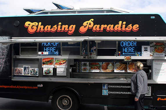 The Chasing Paradise Truck