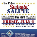 Tonight!  San Pedro's Swingin' Salute Welcomes the USS Iowa
