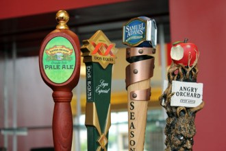 Beers are on tap!