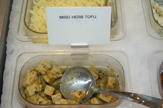 Miso herb tofu