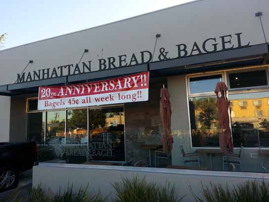 Manhattan Beach Bread and Bagel is Celebrating Their 20th Anniversary All Week Long.