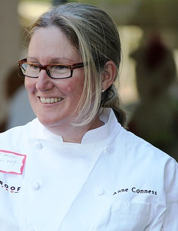 Executive Chef Anne Conness of Tin Roof Bistro and Simmzy's