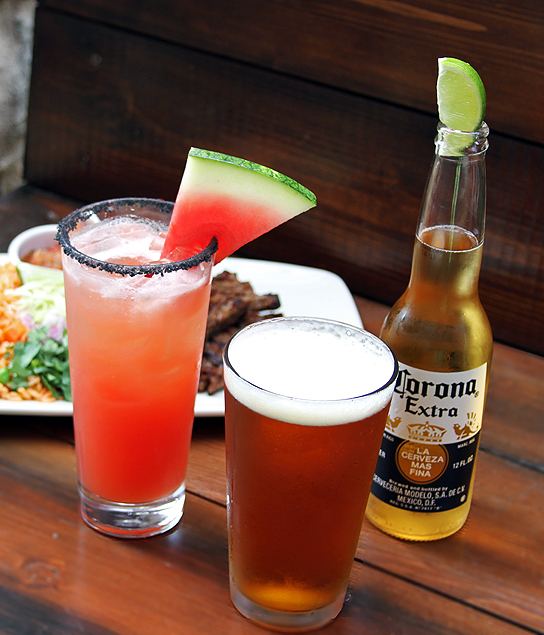 Mexican Inspired Drink Specials at Lazy Dog.