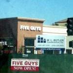 Five Guys Burgers now in Torrance