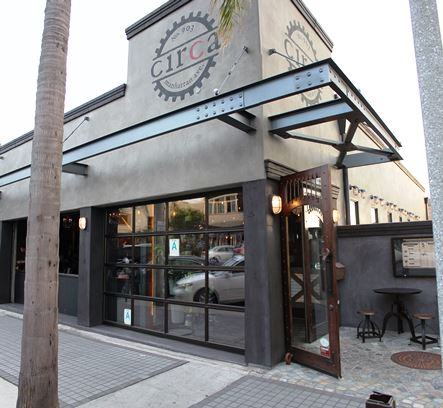 Circa is located just a few blocks south of the pier in Downtown Manhattan Beach.