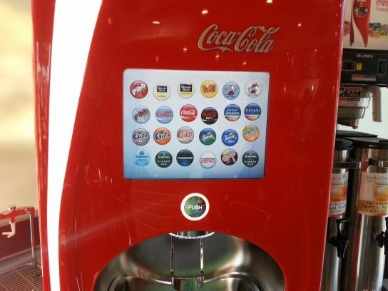 Pizza Rev El Segundo Soda Machine 1