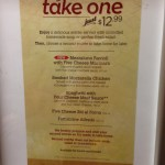 Buy One, Take One is Back at Olive Garden
