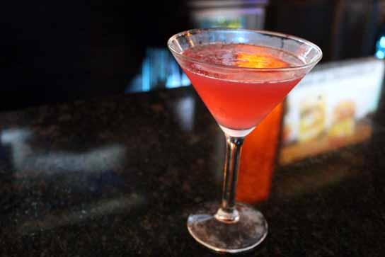 The Road to Lahina - Ciroc Coconut, Cranberry Juice, Grapefruit Juice, St. Germaine.