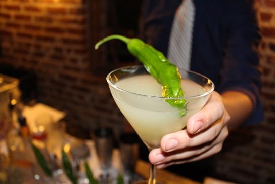 Shishito Martini