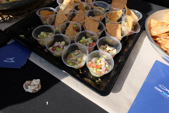 Delicious ceviche from Coni Seafood