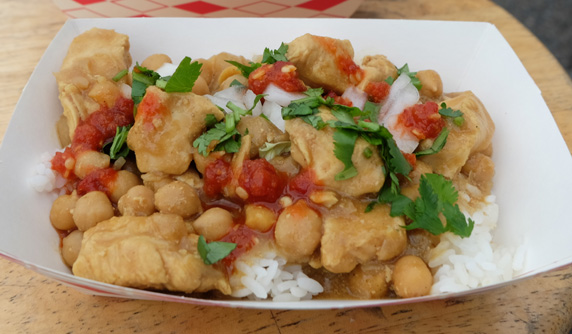 Luckdish's #2 customer favorite - Chicken Curry Bowl