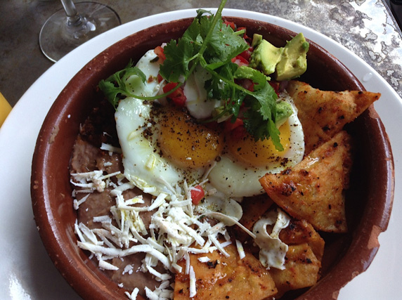 Huevos Rancheros with Chilaquiles