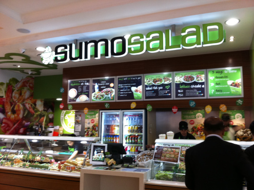 Sumo Salad (Photo credit Adventures of a Sydney coeliac)