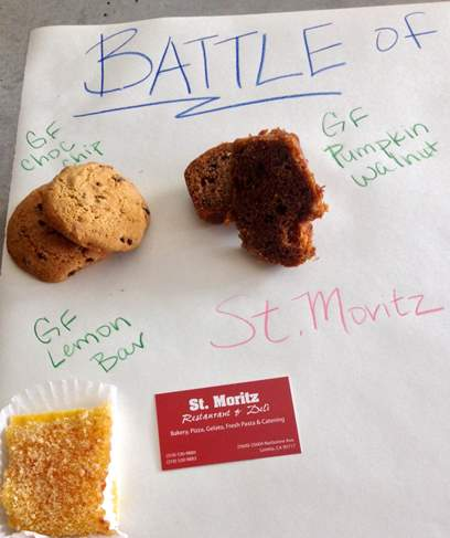 St Moritz Bakery is attached to a restaurant and deli in Lomita.