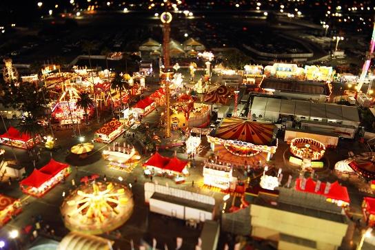 la county fair at night - flikr by nat2b