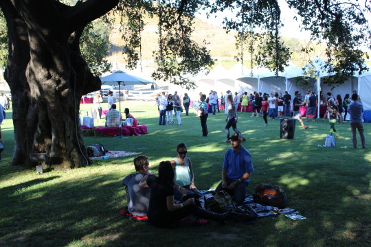 The Food Event takes place on the serene grounds of the Saddlerock Ranch in Malibu.