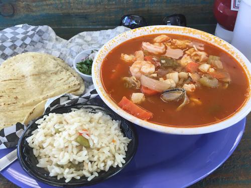 Caldo Mixto - Mixed Seafood Soup