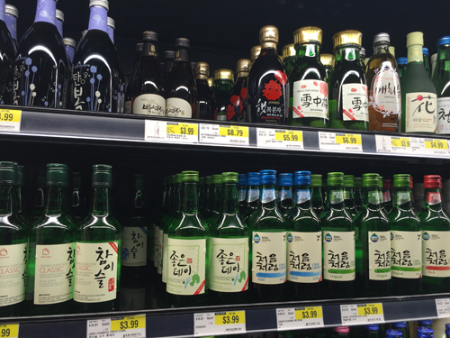 Soju, Sake, Rice Wine and Shochu