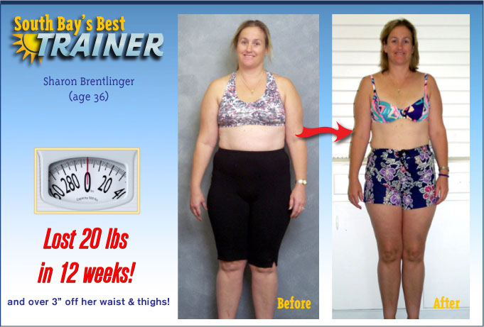 weight loss testimonial personal trainer fat loss program