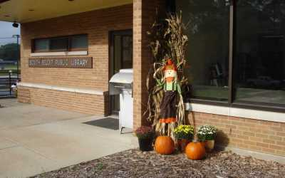 Autumn at the South Beloit Library