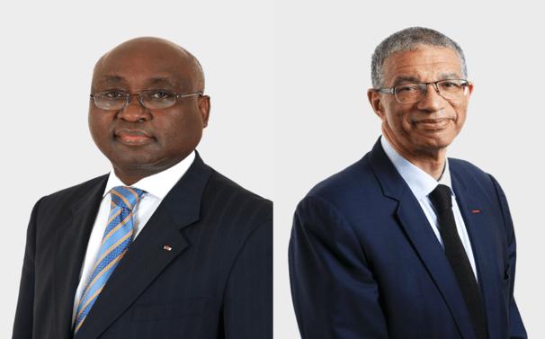 Donald Kaberuka and Lionel Zinsou, bridge makers