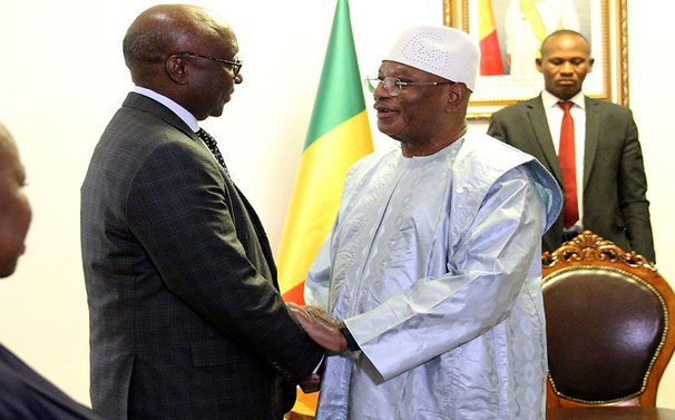 Dr. Donald Kaberuka conferred the title of Commander of the National Order of Merit of Mali