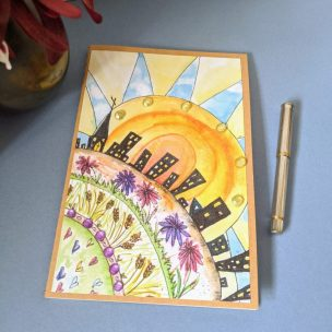 Sunset City Notebook