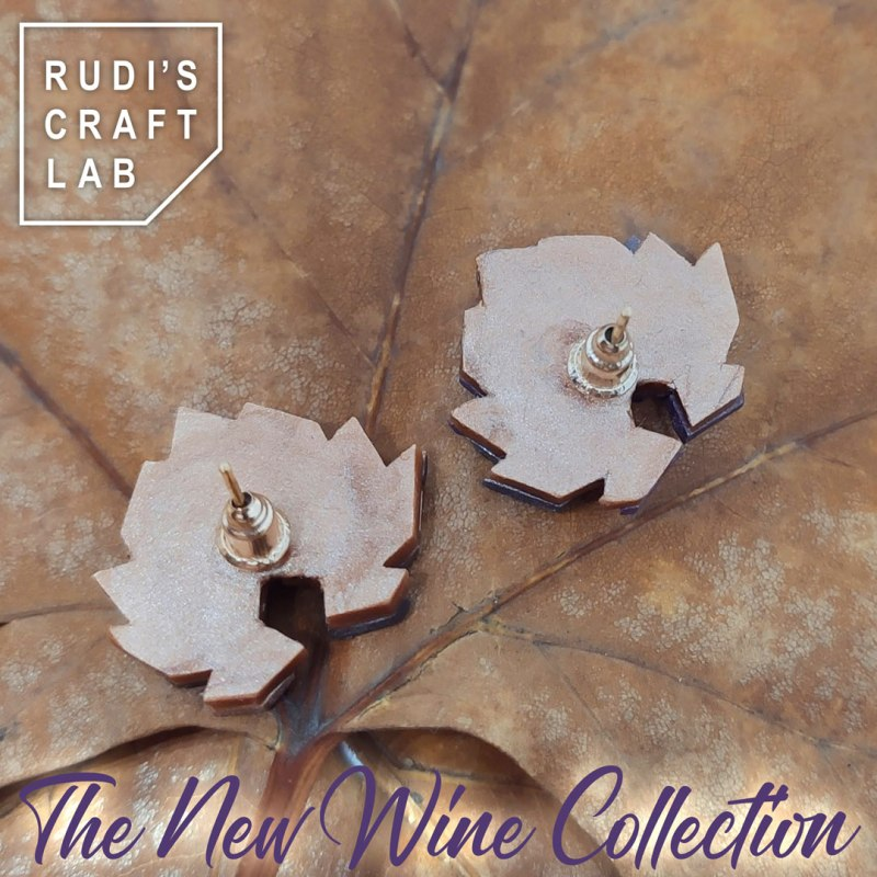 The Wine Collection Medium Earrings