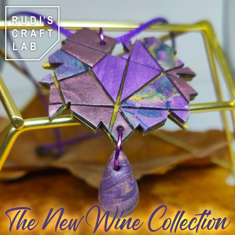 The Wine Collection Pendant Necklace - Wine Drop