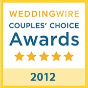B-Sharp Entertainment won the WeddingWire Couples' Choice Award in 2012