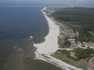 Dauphin Island East End Beach and Barrier Island Restoration Project