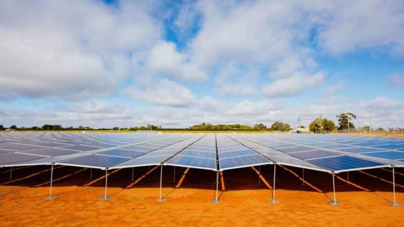SHOALHAVEN SOLAR: The three megawatt alternating current solar farm would be able to output enough electricity to power the equivalent of 12,000 homes a year. Image: Repower Shoalhaven