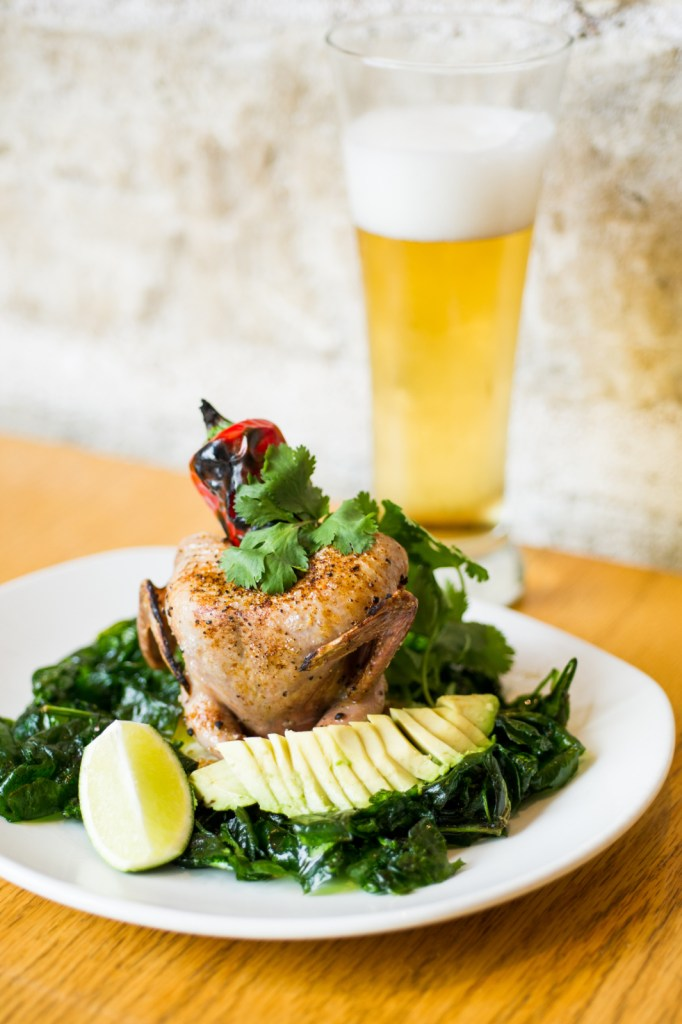exotic beer can quail