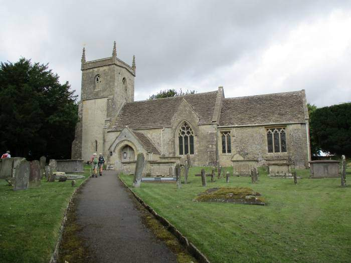 And have lunch at North Wraxall Church
