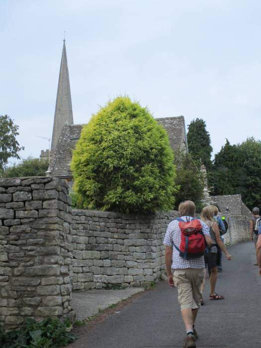 Into the streets of Painswick