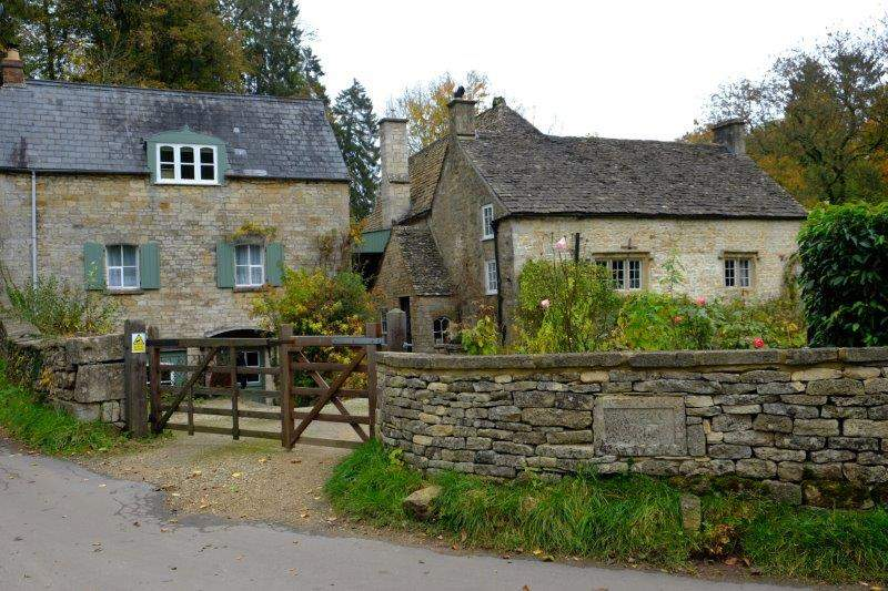 And the old mill house