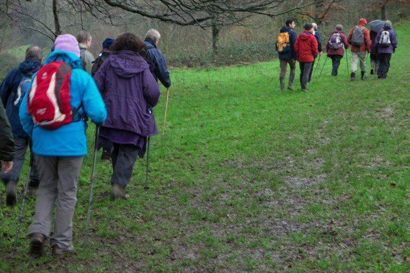 We continue along Besbury Common