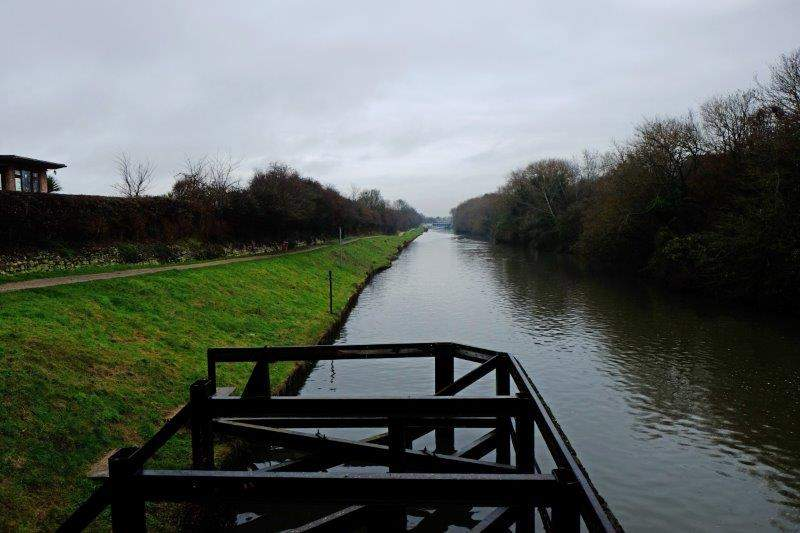 We cross the Sharpness Canal