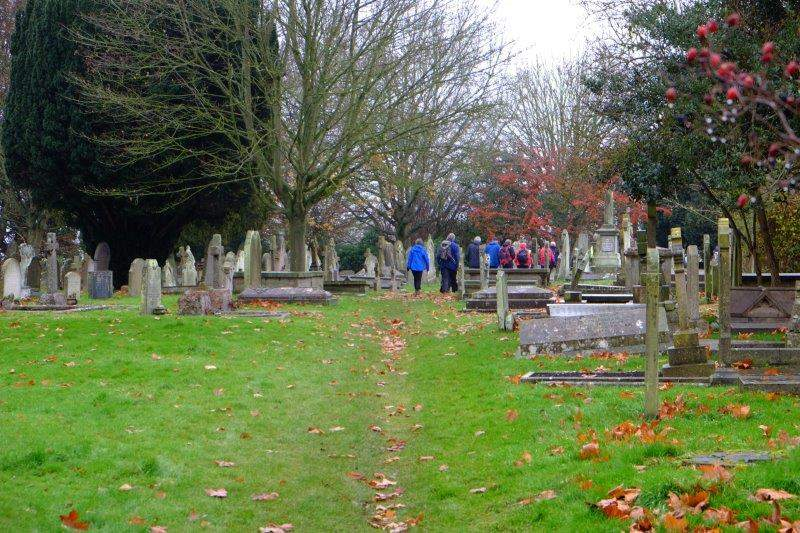 Hempsted graveyard