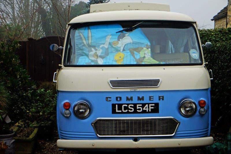 A good old camper van