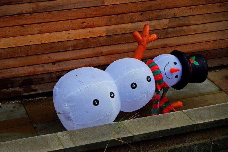 Don't know what happened to Frosty the Snowman