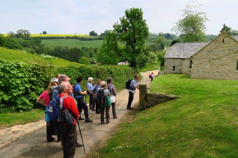 And making our way over to Honeycombe Farm